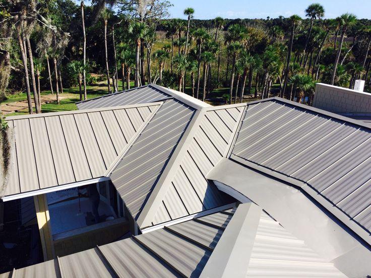 flat roof conversions - Flat Metal Roof